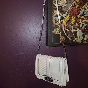 Rebecca Minkoff off-white genuine leather purse
